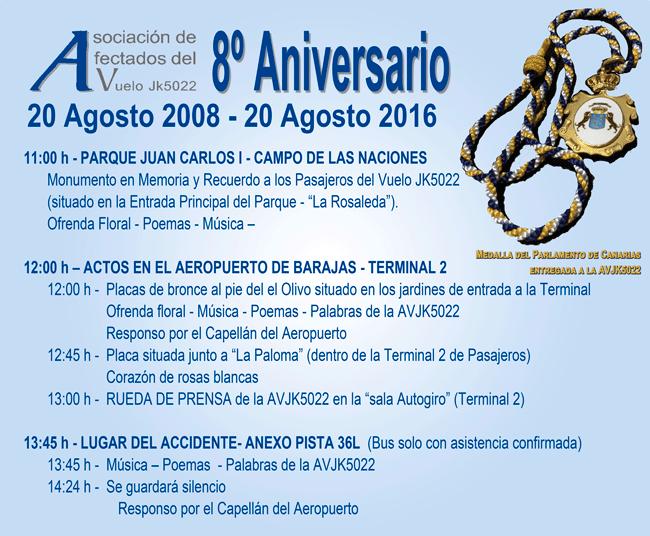 8 aniversario JK5022 Madrid